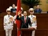 Video tân Chủ tịch nước tuyên thệ trước cờ đỏ sao vàng