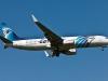 Máy bay Ai Cập đột ngột chuyển hướng trước khi biến mất
