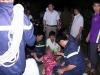 Buồn chuyện gia đình, một phụ nữ trèo lên trụ điện cao thế 120m để tự tử