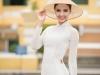 Ngẩn ngơ ngắm nhan sắc của Hoa hậu Pháp trong tà áo dài trắng