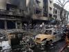 Hiện trường vụ đánh bom đẫm máu tại Baghdad