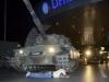 Video: Xe tăng đảo chính Thổ nghiền nát mọi vật cản trên đường