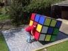 Video: Màn xoay Rubic nặng 100kg trong vòng 1 phút