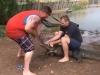 Video: Cá sấu nổi điên quật ngã du khách
