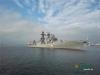 Chùm ảnh: Tàu chiến Nga cập cảng Trung Quốc, chuẩn bị tập trận ở Biển Đông