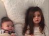 Chị gái bảo vệ em trai trước mẹ 'siêu dễ thương'