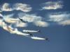 Xem phi cơ biểu diễn tại triển lãm hàng không đầu tiên ở Triều Tiên