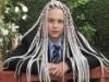 Nữ sinh bị đuổi học vì kiểu tóc đặc biệt