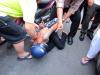 Người đàn ông bị đâm trúng cổ nhưng vẫn quyết đuổi cướp ở Sài Gòn