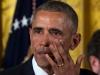 Obama bật khóc trong tiệc chia tay nhân viên ở Nhà Trắng