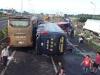 Hiện trường vụ tai nạn giao thông kinh hoàng trên cao tốc Long Thành