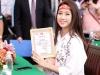 Hoa hậu Mỹ Linh, Á hậu Thanh Tú xinh tươi rạng rỡ đi hiến máu