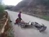 Video: Xe máy chạy ngược chiều đấu đầu kinh hoàng trên đèo Lộ Diêu