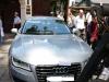 Xe sang của Hoa hậu Thu Hoài bị cẩu về phường vì đỗ sai quy định