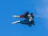 Thót tim cảnh hai tiêm kích Su-30SM áp lưng vào nhau nhào lộn