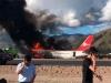Video: Máy bay chở 141 khách bốc cháy giữa không trung