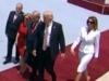 Phản ứng kỳ lạ của Đệ nhất phu nhân Mỹ khi Trump muốn nắm tay