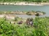 Phát hiện thi thể người phụ nữ không mặc quần áo trôi trên sông