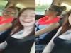 Cô gái xinh đẹp vô tình livestream chính cái chết của mình khi đang cười nói với bạn trên xe chạy tốc độ cao