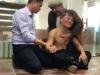 Video cao thủ Pierre tung đòn liên hoàn hạ knock-out võ sư Đoàn Bảo Châu