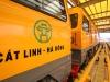 Chạy thử tàu trên tuyến đường sắt Cát Linh - Hà Đông