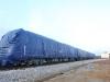 Cận cảnh hàng chục toa tàu được lắp đặt ở đường sắt Hà Đông - Cát Linh