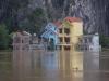 Ninh Bình nhiều nơi nước ngập quá 2m, nhấn chìm nhiều ngôi nhà