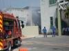Cháy lớn tại công ty may, hàng trăm công nhân hoảng loạn tháo chạy