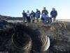 Phát hiện xác thủy quái khổng lồ không đầu trôi dạt vào bờ biển Nga