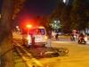 Phát hiện thi thể nam công nhân bên cạnh chiếc xe máy hỏng trên đại lộ