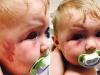 Dùng muỗng đánh dập mặt con gái 8 tháng tuổi nhưng không bị phạt tù, người mẹ độc ác còn nhắn tin khiêu khích chồng cũ