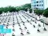 Nhà trường buộc hàng trăm học sinh ngồi giữa trời nắng để thi thử