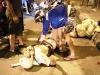 Hai thanh niên hành hung chiến sĩ cảnh sát cơ động vì bị CSGT chặn xe