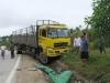 Nghệ An: Xe tải thả dốc lấn làn khiến 1 người chết thảm