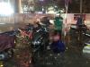 Chùm ảnh: Giao thông Hà Nội tê liệt vì ngập sâu, ô tô, xe máy chết máy hàng loạt.