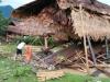 Nghệ An: Lốc xoáy liên tiếp xảy ra, đánh sập và làm tốc mái hơn 60 ngôi nhà