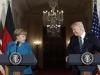 Bất đồng tại G7, ông Trump 'gượng gạo' giải hòa với bà Merkel bằng... kẹo dẻo