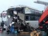 Diễn biến mới nhất vụ xe khách tông xe cứu hỏa khiến một cảnh sát tử vong