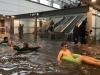 24h qua ảnh: Nhà ga biến thành 'hồ bơi công cộng' sau mưa lớn ở Thụy Điển