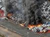 Siêu bão Jebi tấn công Nhật Bản: Hàng trăm ô tô cháy ngùn ngụt trong biển lửa