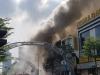Vũ trường nổi tiếng ở trung tâm Đà Nẵng cháy dữ dội, người dân được sơ tán khỏi hiện trường