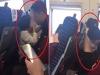 Clip bố thản nhiên vén áo vuốt ve, hôn khắp cơ thể con gái 5 tuổi trên tàu cao tốc