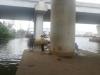 Cần thủ hoảng hốt bỏ chạy khi thấy thi thể trôi trên sông