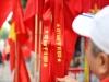 Choáng ngợp với hình ảnh cờ đỏ sao vàng trước trận Việt Nam - Philippines
