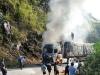 Tin tức tai nạn giao thông mới nhất ngày 22/12: Xe chở 70 tấn gạo cho hộ nghèo bốc cháy dữ dội