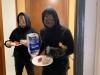 'Bạn trai' Ninh Dương Lan Ngọc gây hoang mang khi hóa trang thành người 'mặt đen'