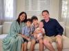Vợ của chồng cũ Hồng Nhung lần hiếm hoi xuất hiện bên con riêng và con chung