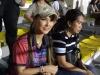 Maria Ozawa cùng hai vệ sĩ đến xem trận Việt Nam - Indonesia