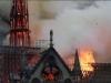 Hiện trường vụ cháy kinh hoàng ở Nhà thờ Đức Bà Paris