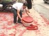 Vụ đốt pháo trong đám cưới ở Hà Nội: Khởi tố, tạm giữ một nghi phạm